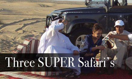 Three Super Safaris