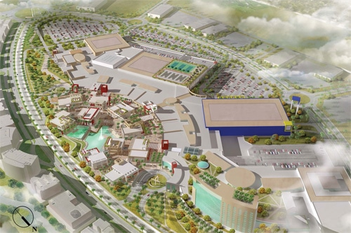 Architect rendering of the project.