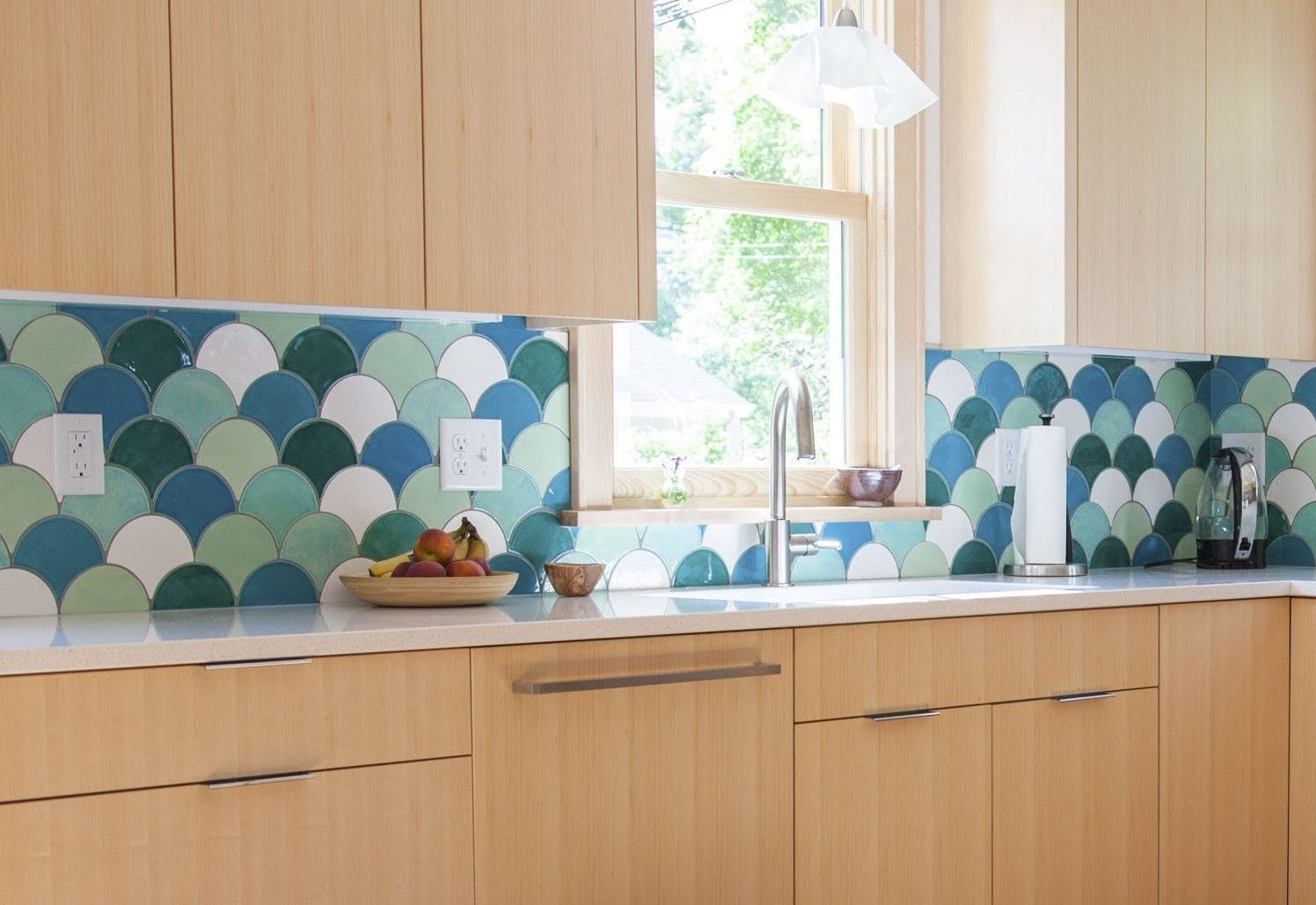 TilesClearwater blend_Moroccan Fish Scale Kitchen