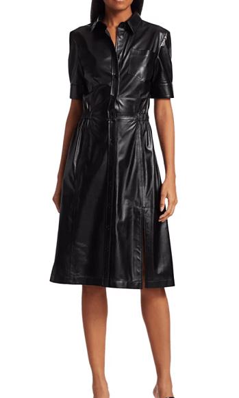 altuzarra leather dress