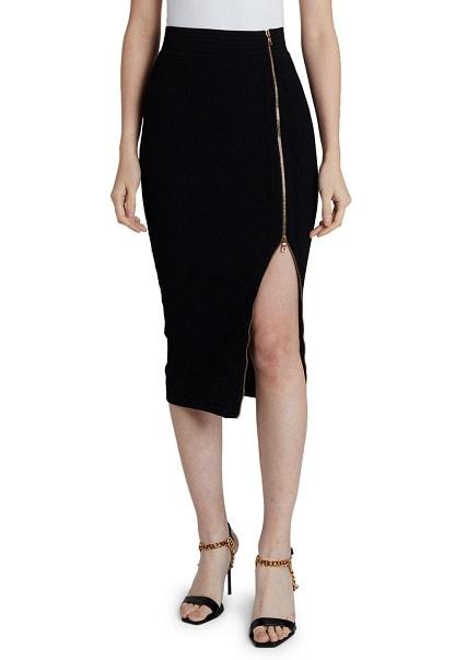 balmain pencil skirt
