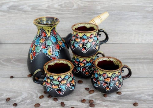 Café Society: Essential Yet Upgraded Middle Eastern Coffee Serving Pieces