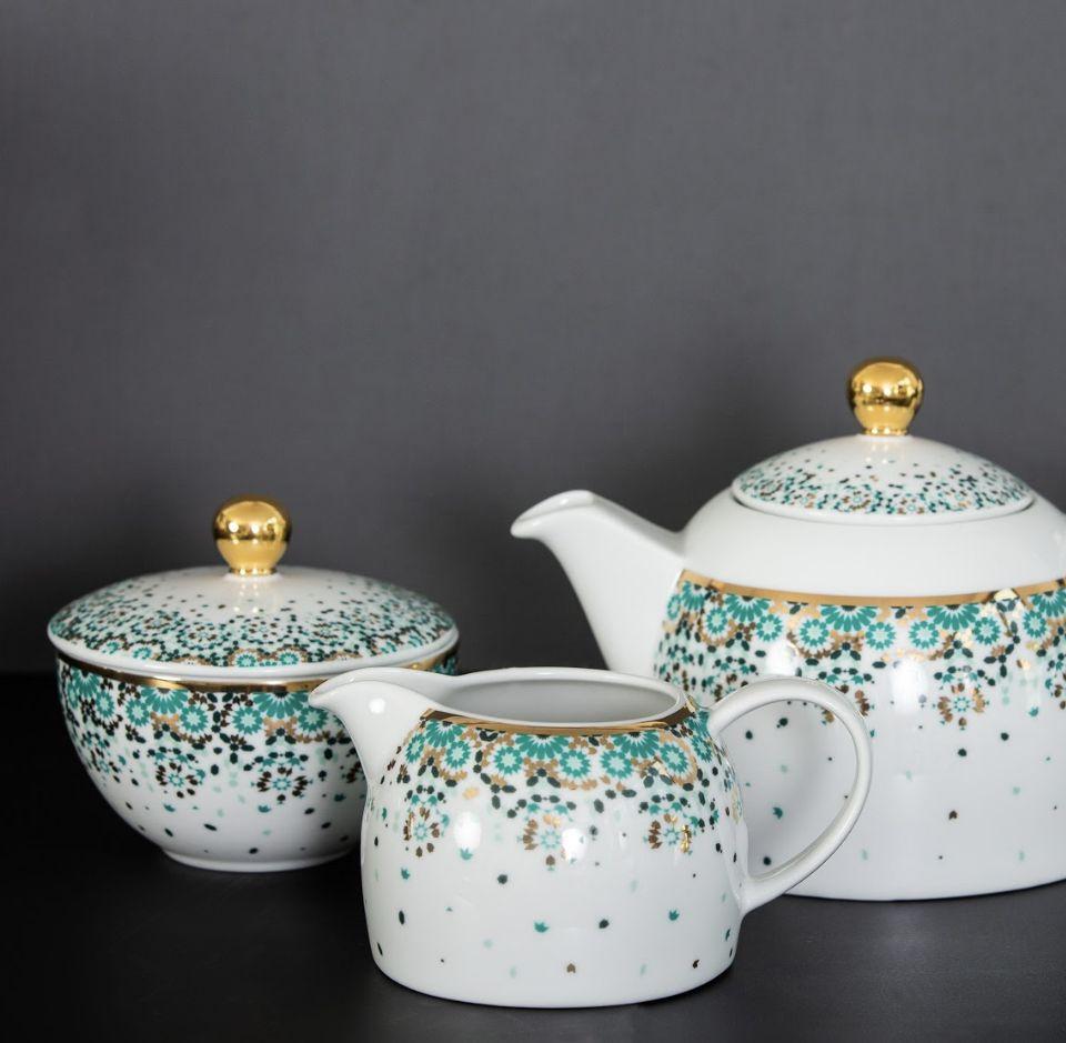 Mirrors Emerald Tea Set - ALO Magazine