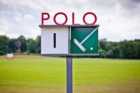 CPA exterior Polo field sign - ALO Magazine