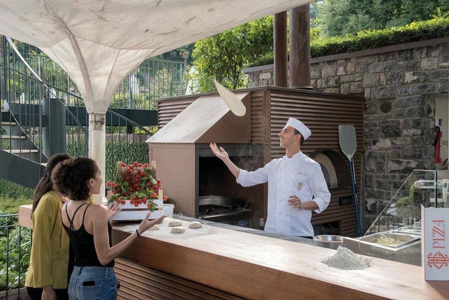Grand Hotel Tremezzo pizza - ALO Magazine