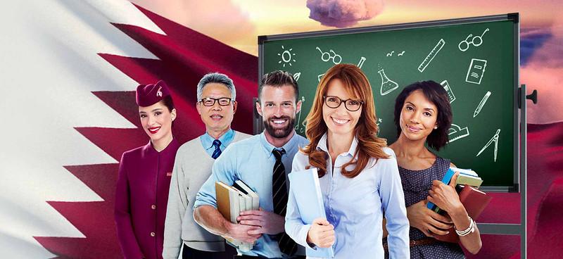 Qatar Airways Honor Teachers - ALO Magazine