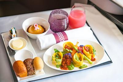 Qatar Airways Vegan Meals - ALO Magazine