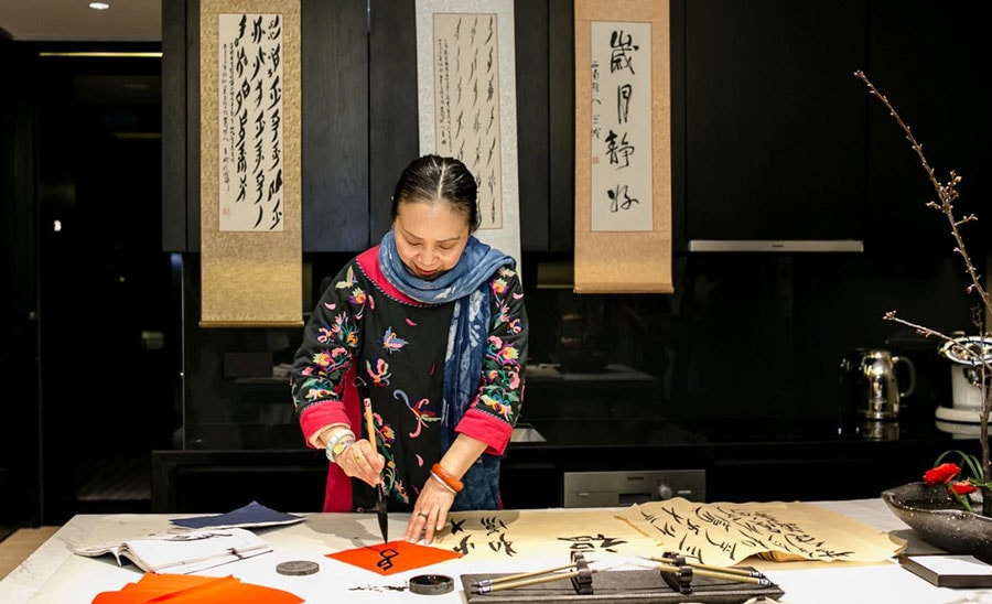 Temple House Calligraphy - ALO magazine