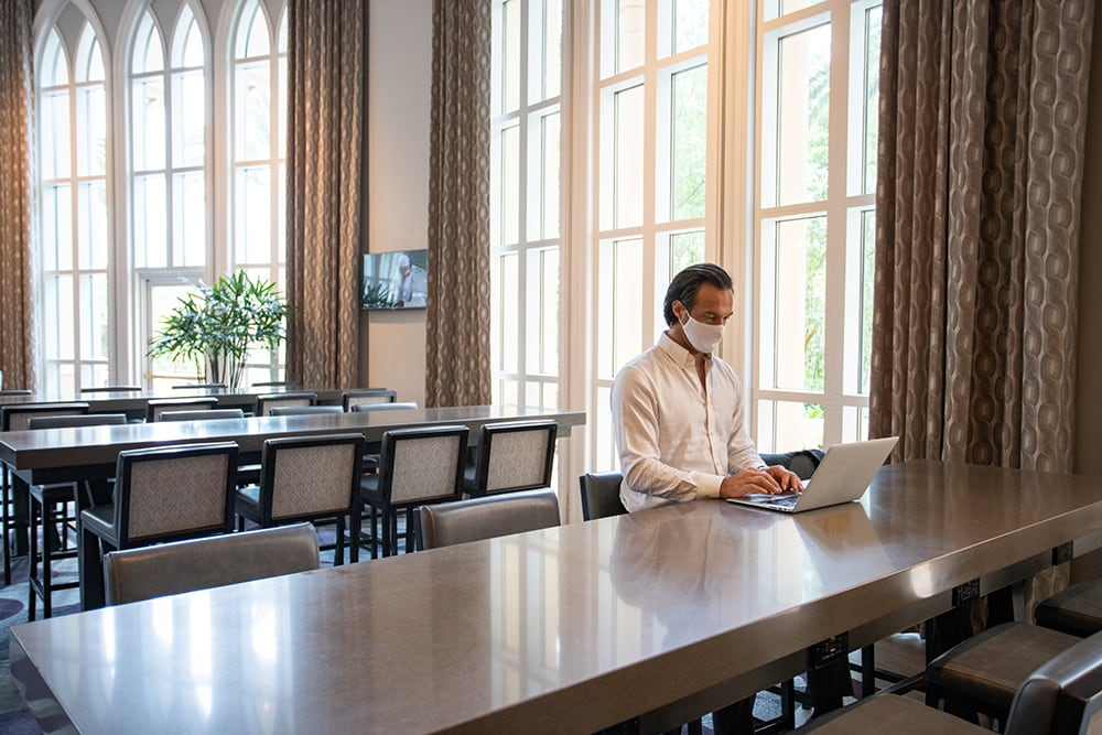 Work Remotely form a Hotel - ALO Magazine