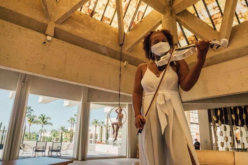 Paradisus Los Cabos New Entertainment Practices - ALO Magazine