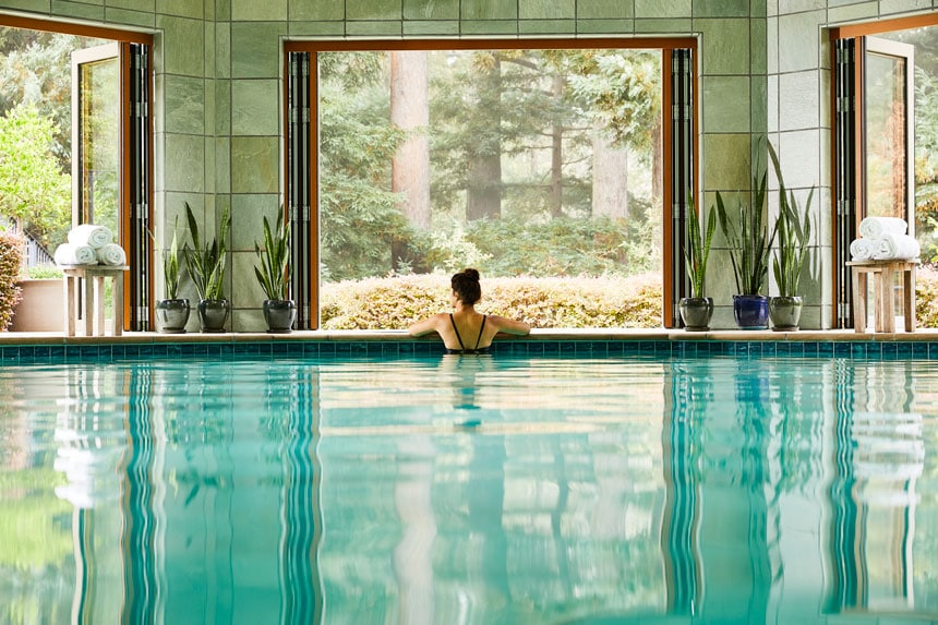 indoor pool canyon ranch woodside - ALO Magazine