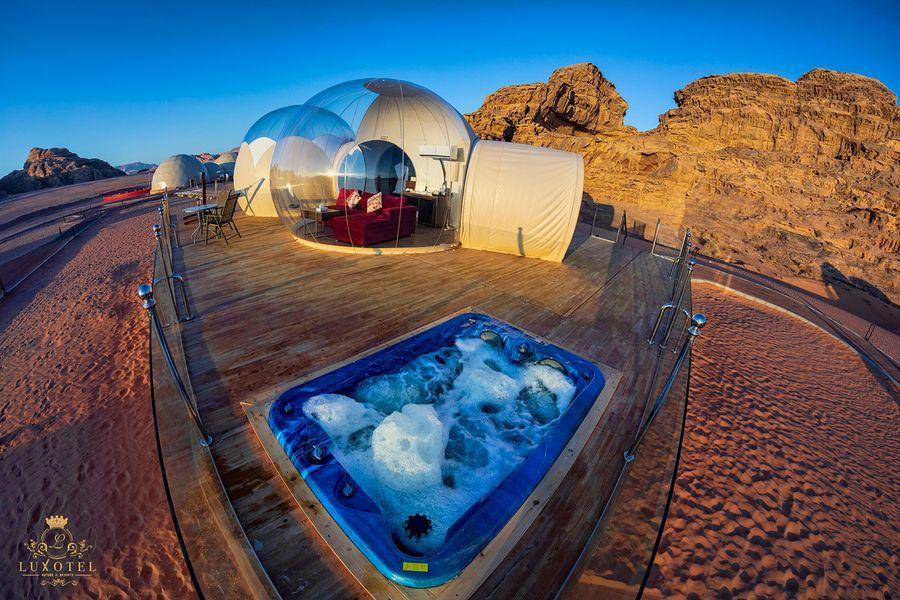 Bubble Luxotel Wadi Rum - ALO Magazine