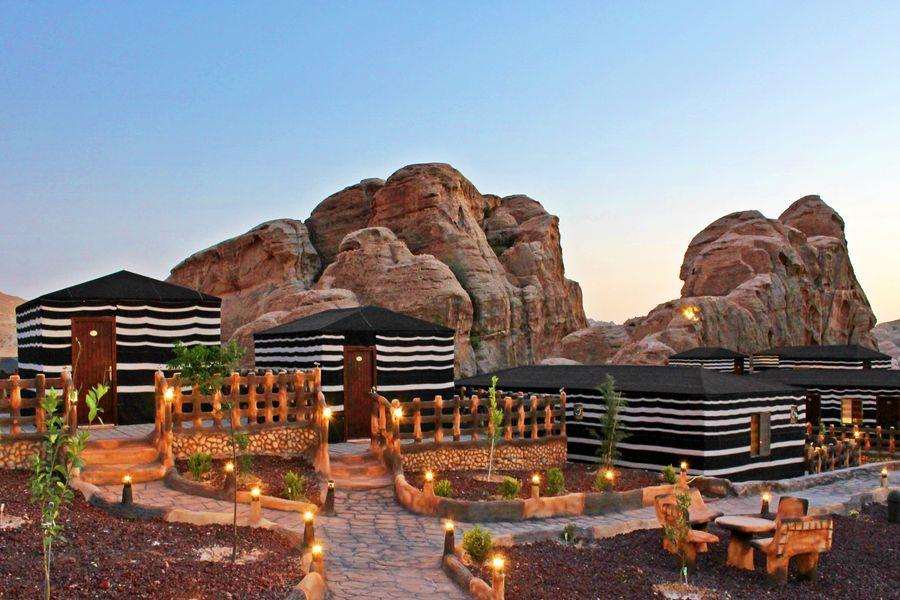 Cabins, Seven Wonders Luxury Camp, Little Petra - ALO Magazine