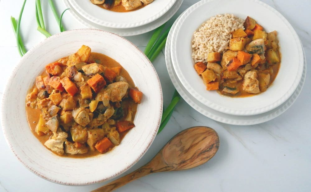 Sweet Potato Chicken Curry- ALO Magazine