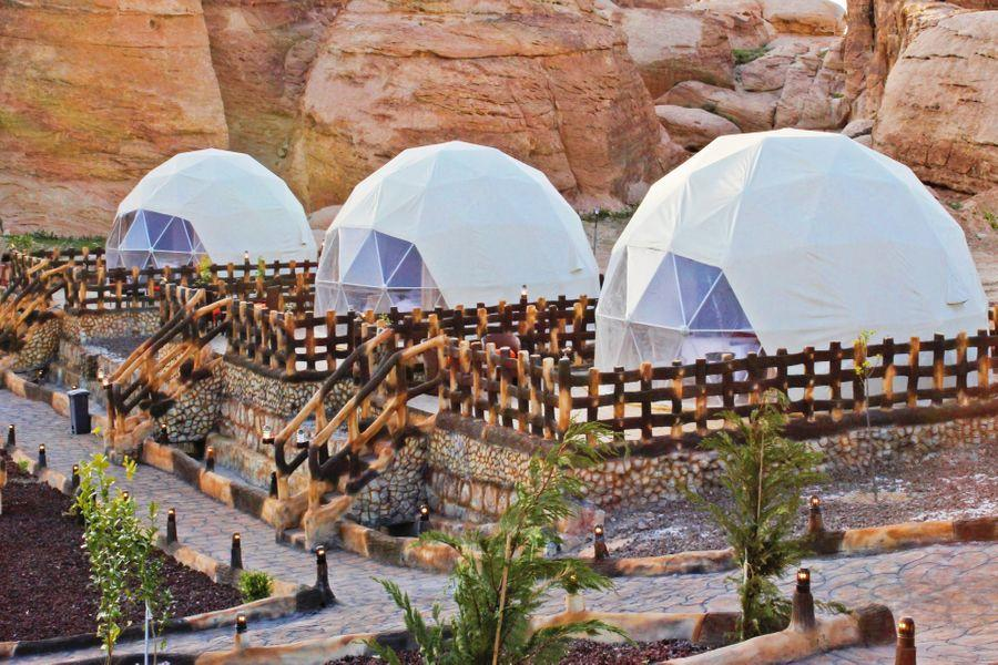 Dome Tents, Seven Wonders Luxury Camp, Little Petra - ALO Magazine
