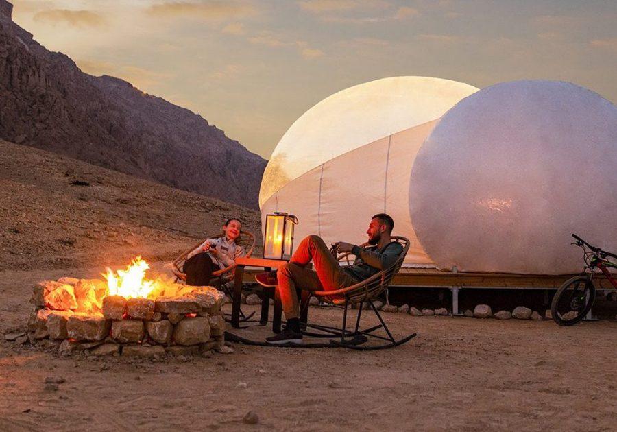 Jebel Hafit Desert Park Buble - ALO Magazine