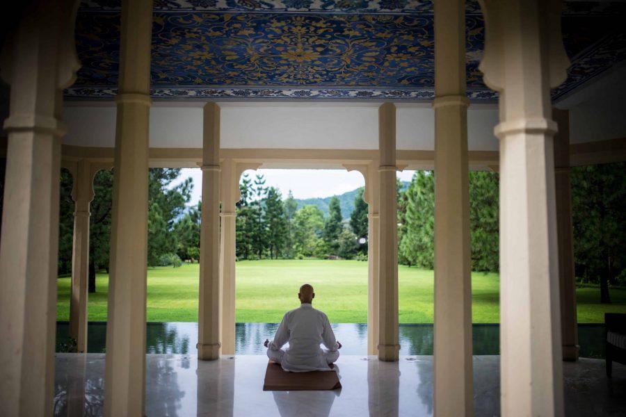 Meditation in music pavilion - ALO Magazine