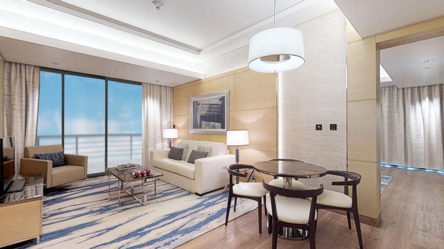 One Bedroom Executive Suite Livingroom - ALO Magazine